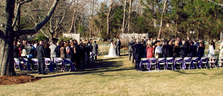 On-Site Wedding Ceremonies & Outdoor Weddings