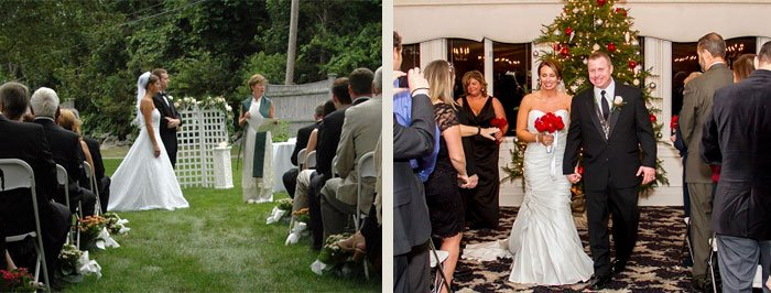Indoor vs Outdoor Wedding Ceremonies